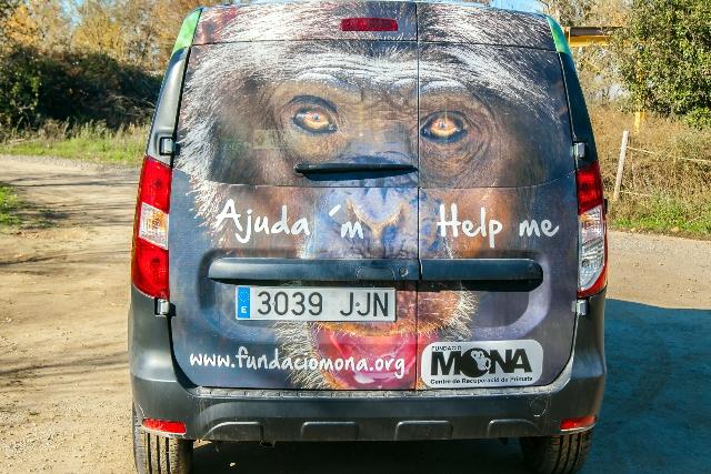 MONA's new van thanks to Lush